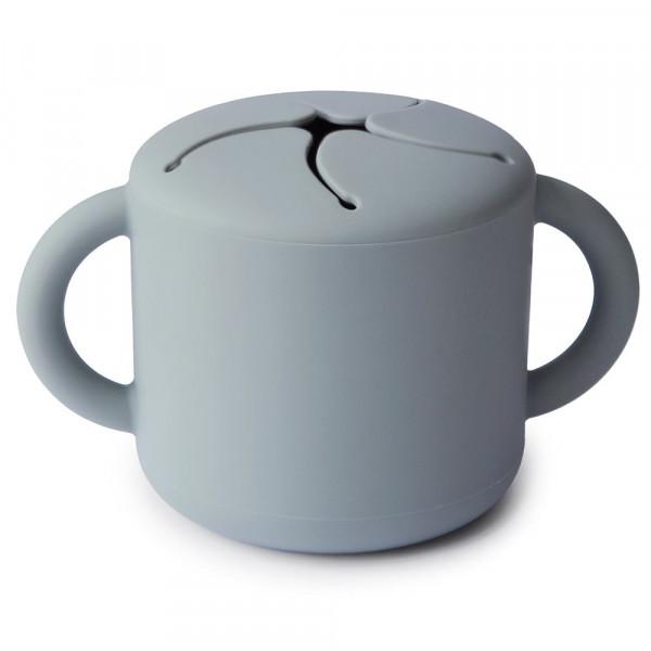 MUSHIE SILIKON SNACK CUP - STONE