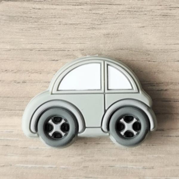 Motivperle Auto Grau