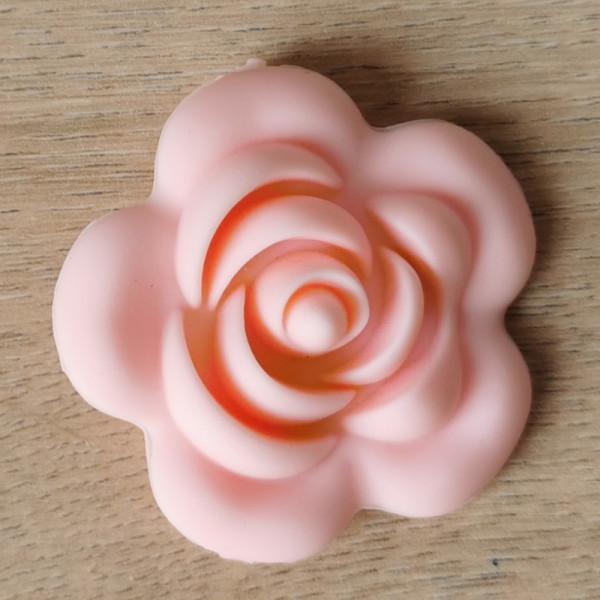 Motivperle Rose - Rosa