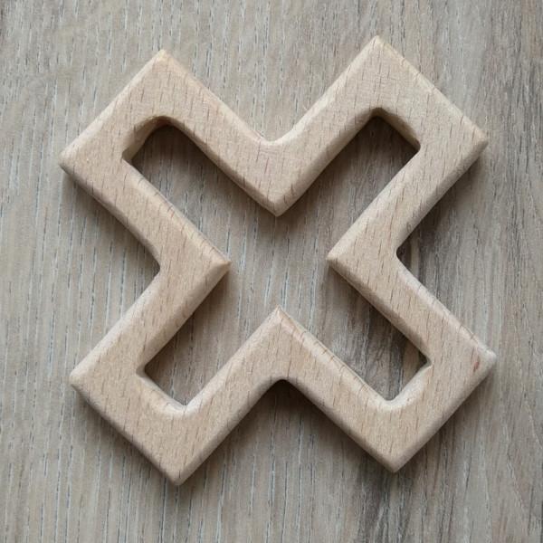 Holzanhänger Kreuz