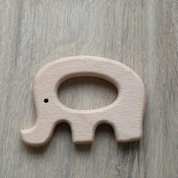 Holzanhänger Elefant