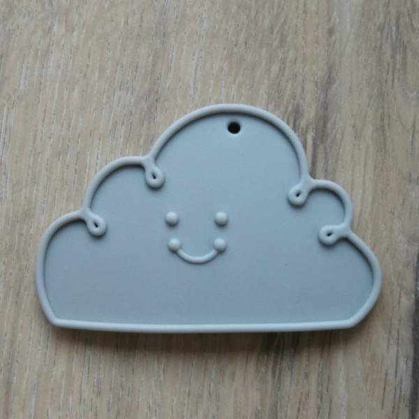Silikonanhänger Wolke