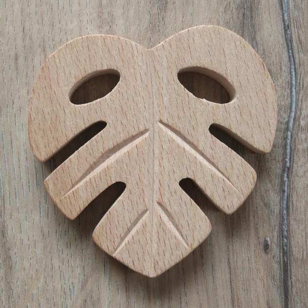 Holzanhänger Blatt