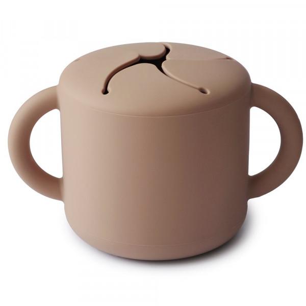 MUSHIE SILIKON SNACK CUP - NATURAL