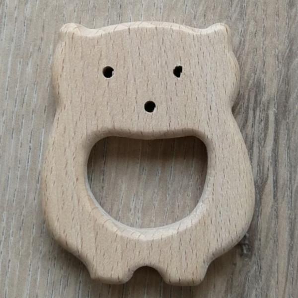 Holzanhänger Eisbär