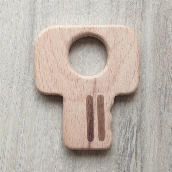 Holzanhänger Schlüssel