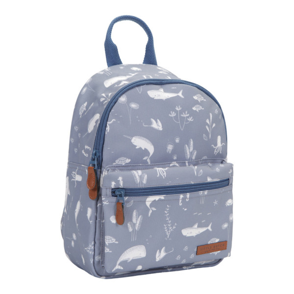 "LITTLE DUTCH RUCKSACK ""OCEAN"" BLAU"