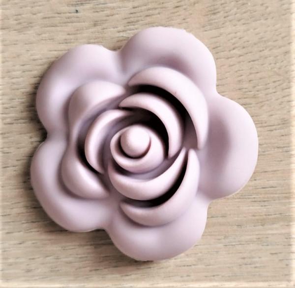 Motivperle Rose - Flieder
