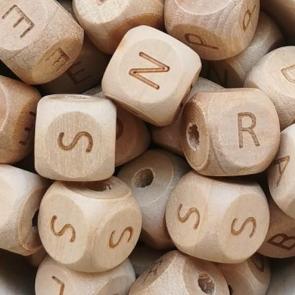 Holzbuchstaben 12mm