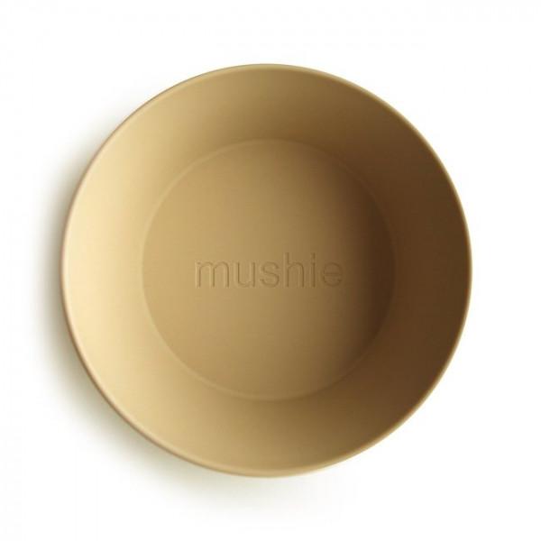 MUSHIE SCHALE / SCHÜSSEL 2-TEILIG - MUSTARD